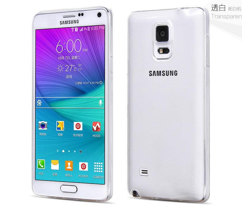 Ốp lưng nhựa trong suốt cho Samsung Galaxy Note 4 hiệu Baseu...