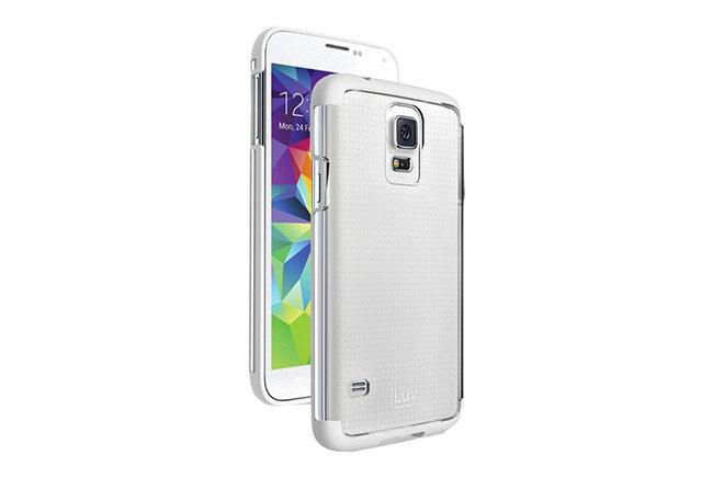 Ốp lưng Samsung S5 hiệu iLuv Vyneer chính hãng