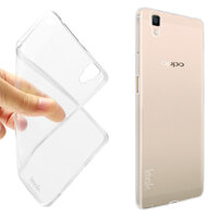 Ốp lưng Silicon Oppo R7s Trong suốt