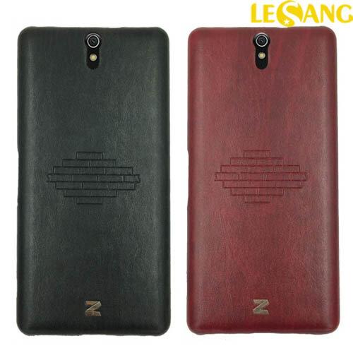 Ốp lưng Sony Xperia C5 Dual Zenus Brick lưng da