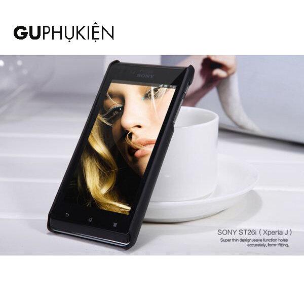 Ốp lưng Sony Xperia J ST26i thương hiệu Nillkin