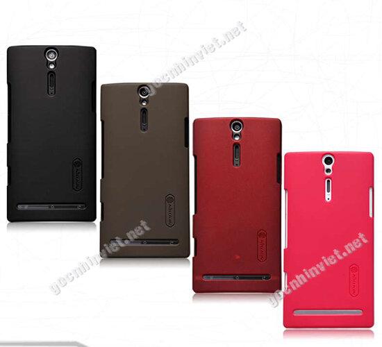 Ốp lưng Sony Xperia S LT26i thương hiệu Nillkin