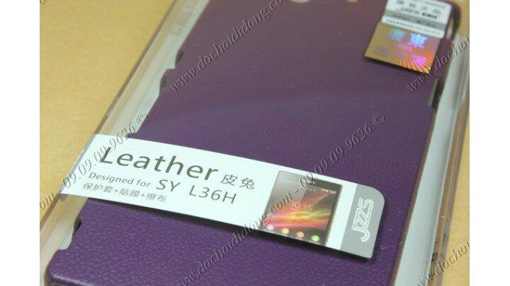 Ốp lưng Sony Xperia Z L36h JZZS giả da