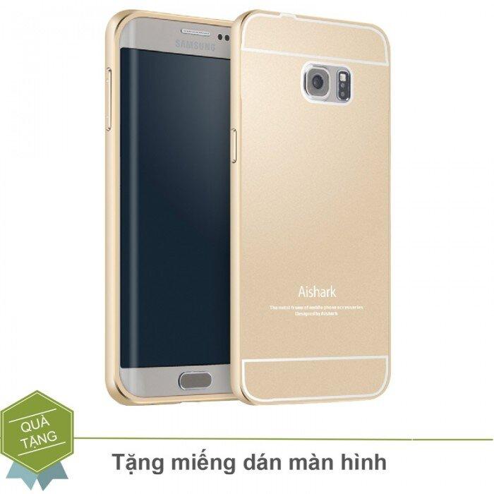 Ốp lưng viền kim loại Samsung S6 Edge Plus hiệu Aishark