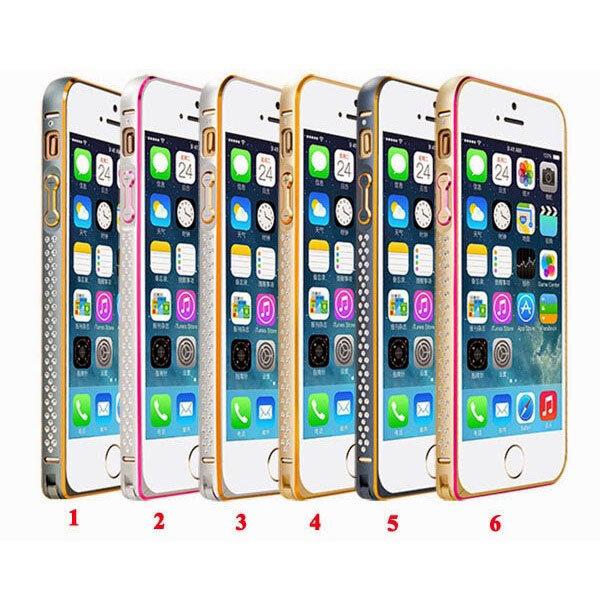Ốp viền đá điện thoại DĐ IPhone 5/5S Coteetci