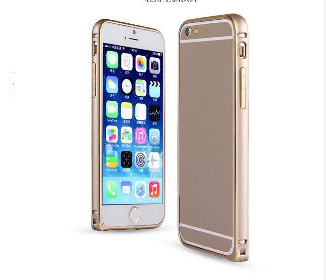 Ốp Viền IPhone 6 Chỉ Vàng
