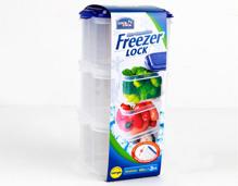 Bộ 3 hộp bảo quản ngăn đông Freezer Lock&Lock 600ml