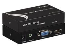 Bộ chuyển đổi VGA và Audio sang HDMI MT-VH02- chính hãng MT-VIKI ...