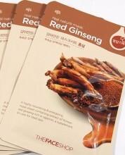 Mặt nạ nhân sâm Real Nature Mask Red Ginseng
