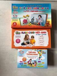 Thẻ học bộ từ đơn - từ ghép cho bé