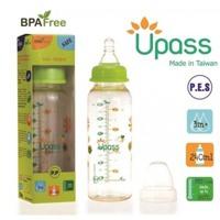 Bình sữa Pes cổ thường UPASS 240ml