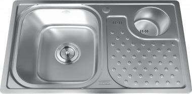 Chậu rửa bát 2 hố liền Gorlde GD025 (GD-025)