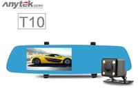 Camera hành trình gương Anytek T10 Dual