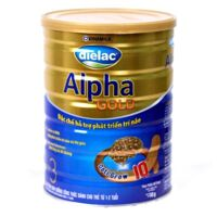 Sữa bột Vinamilk Dielac Alpha Gold Step 3 - 400g (cho trẻ 1-2 tuổi)