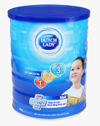 Sữa bột Dutch Lady Cô gái Hà Lan 123 - hộp 900g (dành cho trẻ từ 1 - 3 tuổi)