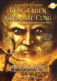 Percy Jackson: Cuộc chiến chốn mê cung (Phần 4 - Tái bản 2013) - Rick Riordan