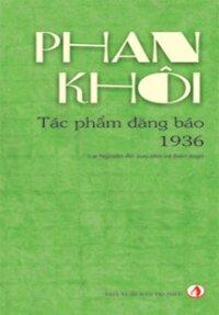 Phan Khôi Tác phẩm đăng báo 1936