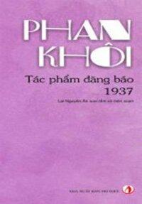 Phan Khôi Tác phẩm đăng báo 1937