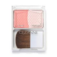 Phấn má Cezanne Cheek & Highlight #01 Natural Pink