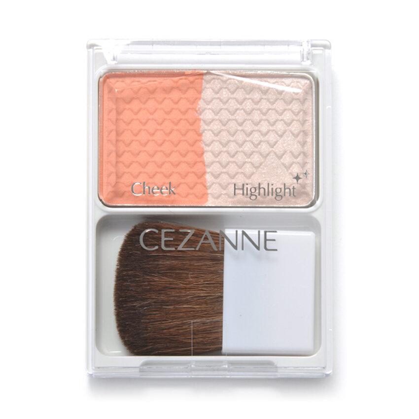 Phấn má Cezanne Cheek & Highlight #03 Coral Orange