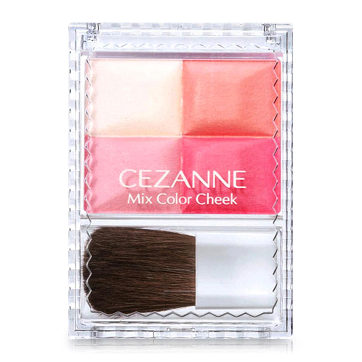 Phấn má Cezanne Mix Color Cheek màu 01 8g