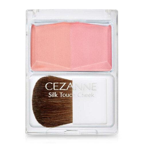 Phấn má Cezanne Silk Touch Cheek #02 Pink Coral