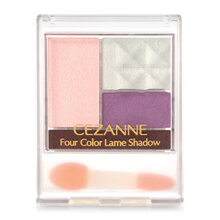 Phấn mắt Cezanne Four Color Lame Shadow #03 Pink