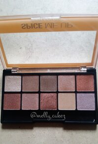 Phấn mắt spice me up eye shadow palette city color