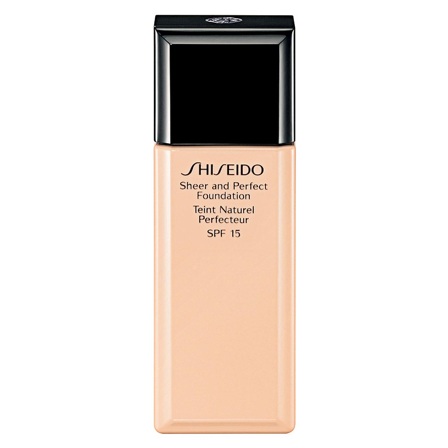 Phấn nền dạng lỏng Shiseido Sheer and Perfect Foundation 30ml