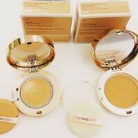 Phấn nền The Face Shop Gold Collagen Ampoule Cover Cake V203