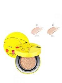 Phấn nước TonyMoly Pikachu Mini Cover Cushion SPF50+ PA+++