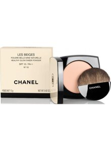 Phấn phủ Chanel Les Beiges Poudre Belle Mine Naturelle Healthy Glow Sheer Powder SPF 15/ PA ++