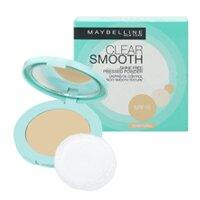 Phấn phủ dạng nén mịn da chống dầu Maybelline Clear Smooth Original SPF 20 PA+++