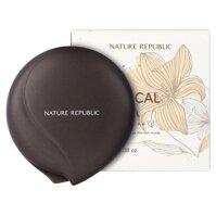 Phấn phủ dạng nén vani Botanical Vanilla Pact Nature Republic