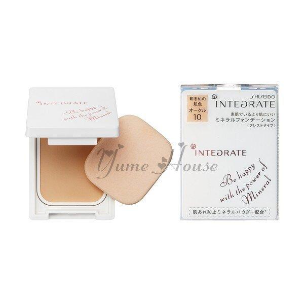 Phấn phủ Shiseido Integrate Mineral