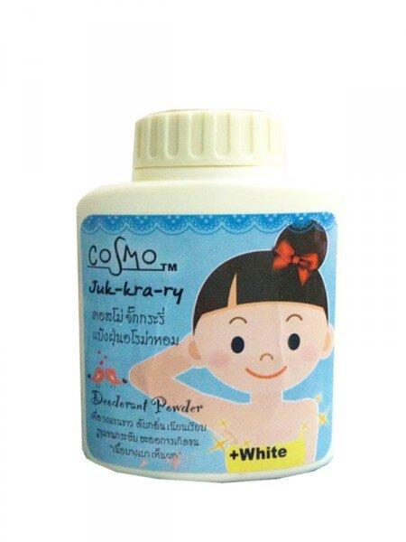 Phấn Rôm Khử mùi giảm thâm và làm trắng nách Mchue Cosmo Juk-Kra-Ry Deodorant Powder