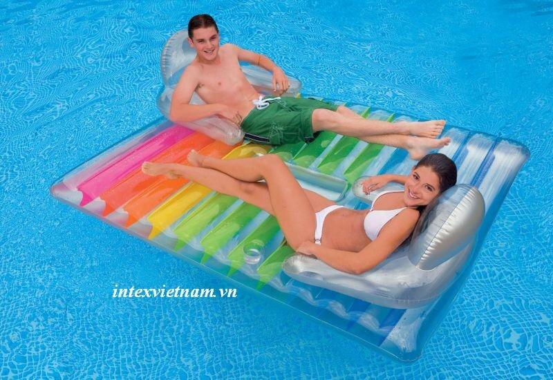 Phao bơi người lớn có ghế tựa Intex 58877