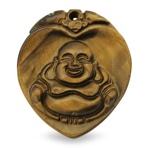 Phật Di Lặc trái tim đá mắt mèo nhỏ FS702