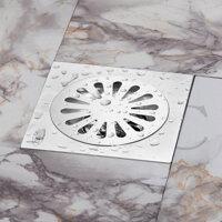 Phễu thoát sàn chống mùi hôi inox Zento TS201-L (20x20)