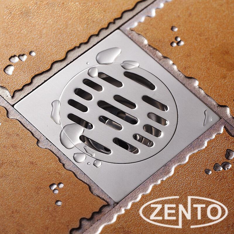 Phễu thoát sàn chống mùi hôi inox Zento TC109