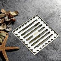 Phễu thoát sàn chống mùi inox Zento TS130-L