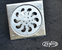 Phễu thoát sàn inox Zento TS105
