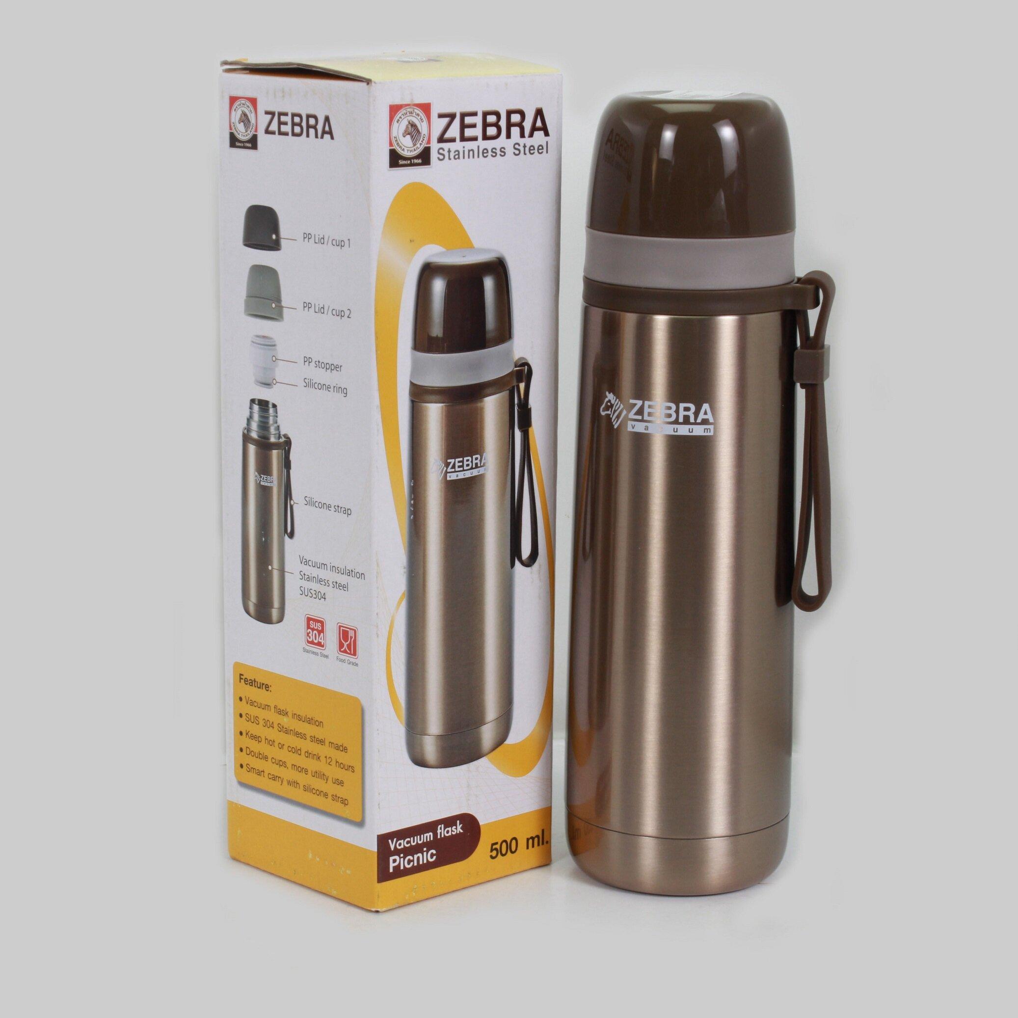 Phích - Bình giữ nhiệt Zebra Picnic 112651 - 0.5L