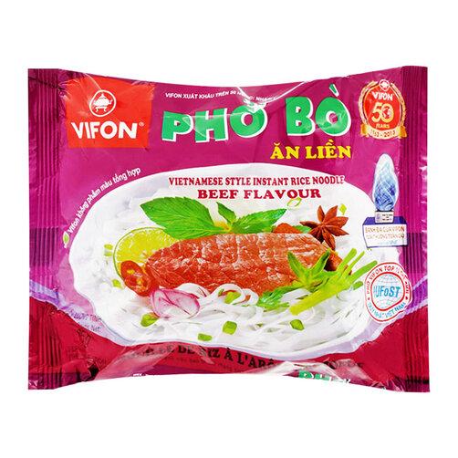 Phở bò ăn liền Vifon gói 65g