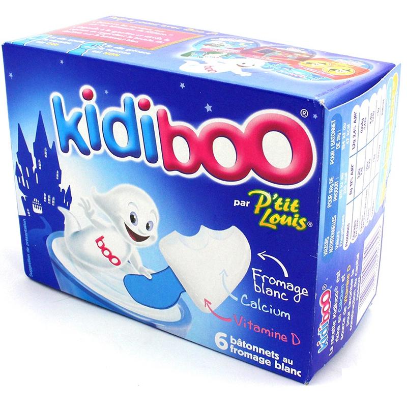 Phomai que sò trắng Kidiboo P'tit Louis – hộp 6 que
