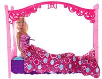 Phòng ngủ hiện đại cho búp bê The Princess and Popstar Barbie X7941