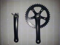 Phụ tùng xe đạp bộ giò dĩa Fixed gear 5 chấu