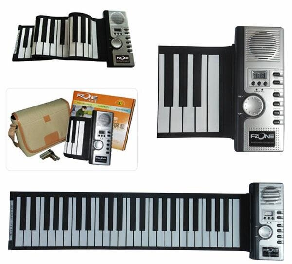 Piano phím mềm - Piano cuộn - Roll Up Piano - Soft Keyboard Piano 61 key