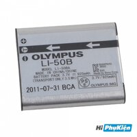 Pin máy ảnh Pisen for Olympus Li-50B