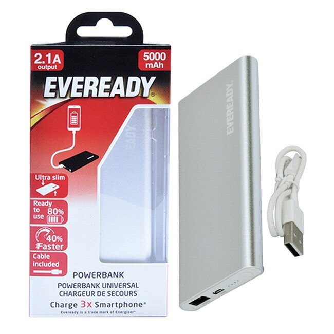 Pin sạc dự phòng Eveready PPA5000EMSL4 5000mAh